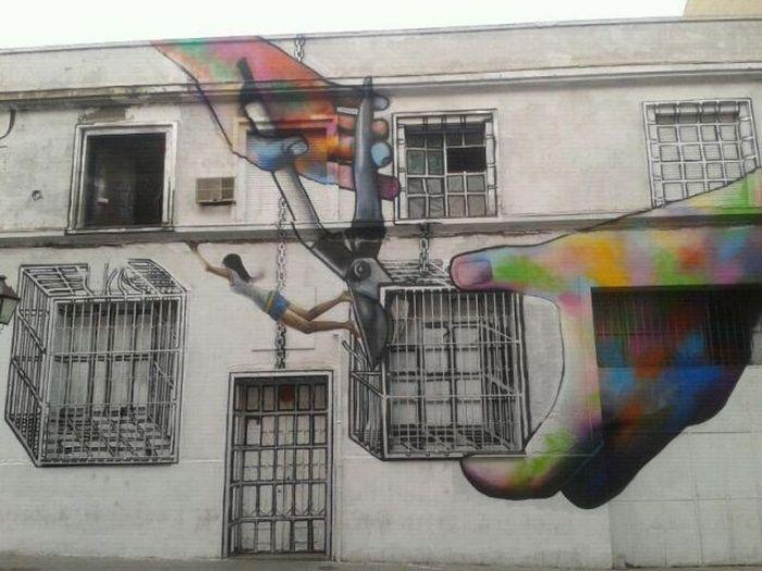 50 exemplos bacanas de arte de rua 07