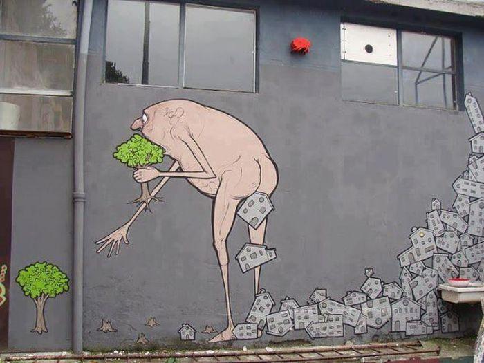 50 exemplos bacanas de arte de rua 11
