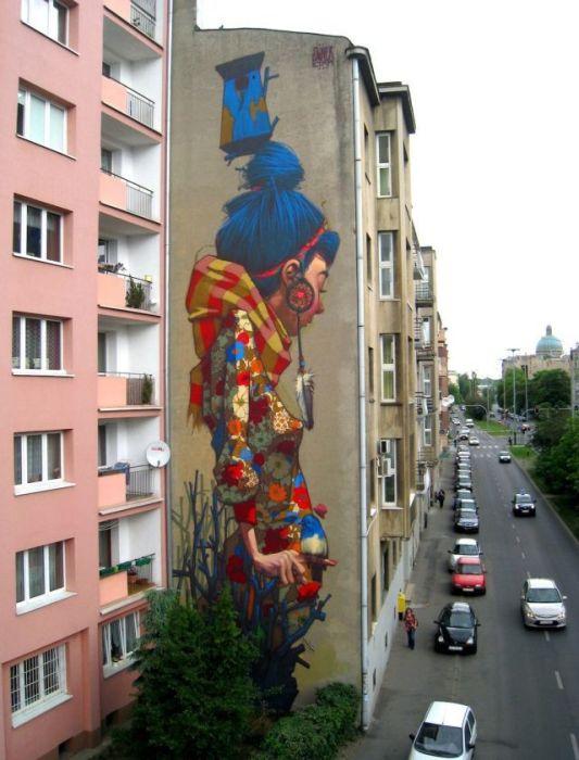 50 exemplos bacanas de arte de rua 43