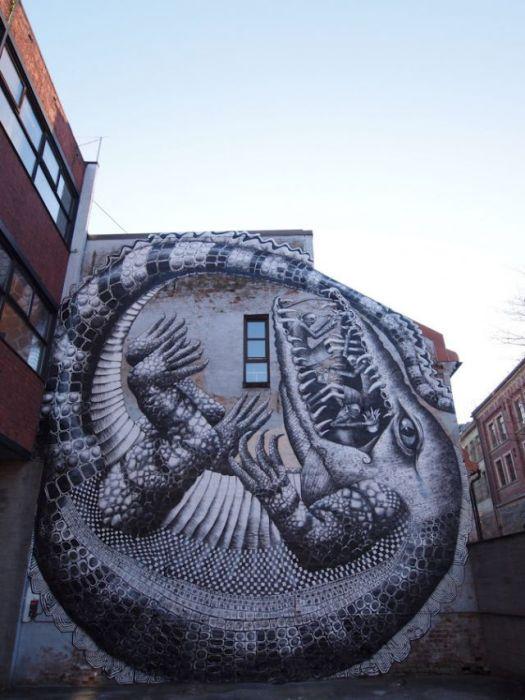 50 exemplos bacanas de arte de rua 50