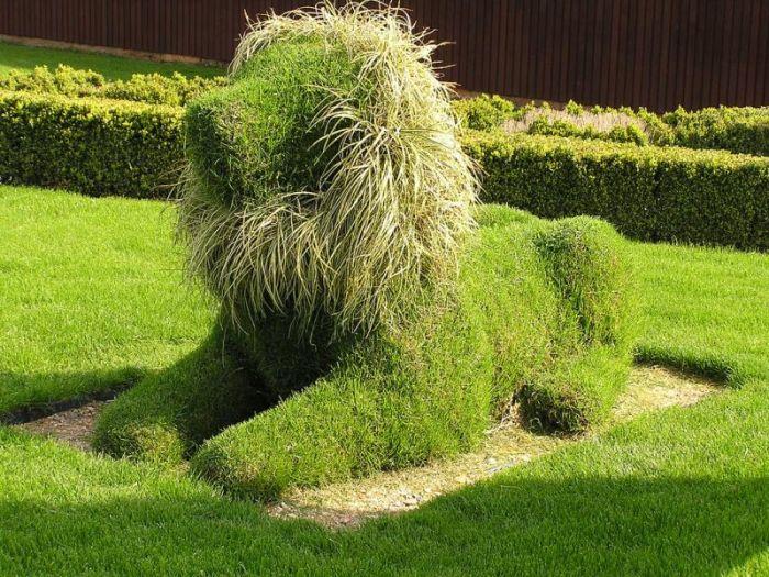 A bela arte da topiaria 18