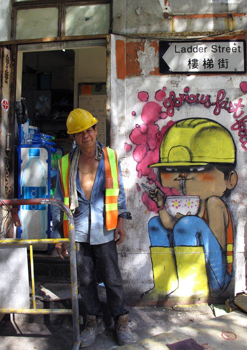 A arte de rua de um Pintor do Mundo 22