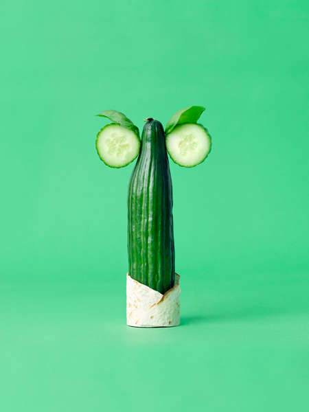 Arte com vegetais 05