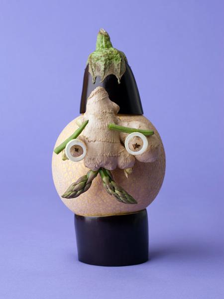Arte com vegetais 08