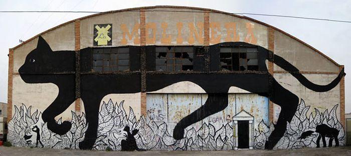Belos murais urbanos 11