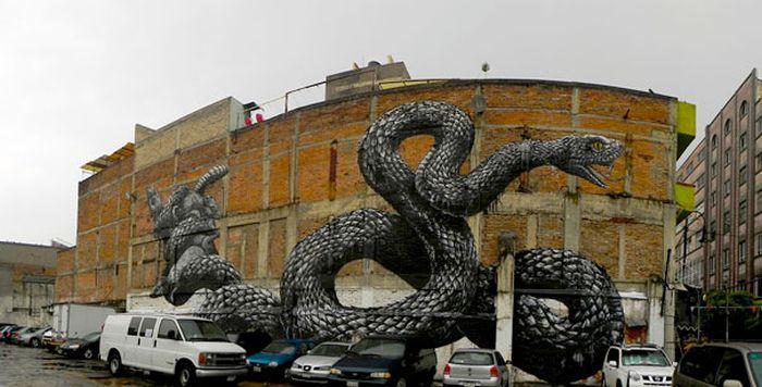 Belos murais urbanos 18