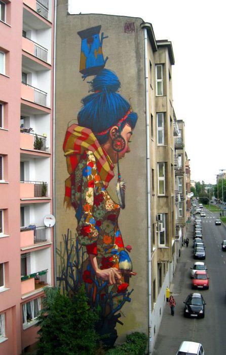 Belos murais urbanos 21