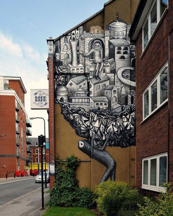 Belos murais urbanos 22