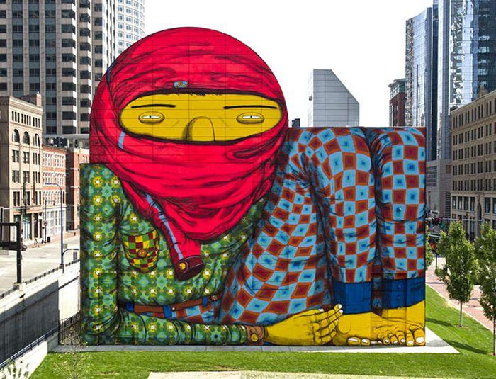 Belos murais urbanos 25