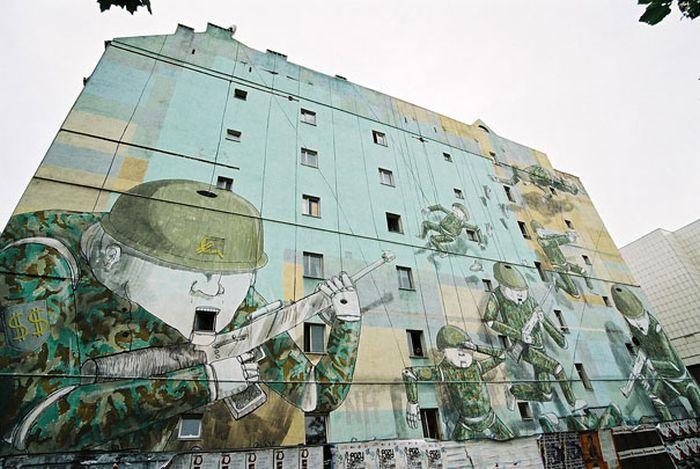 Belos murais urbanos 29