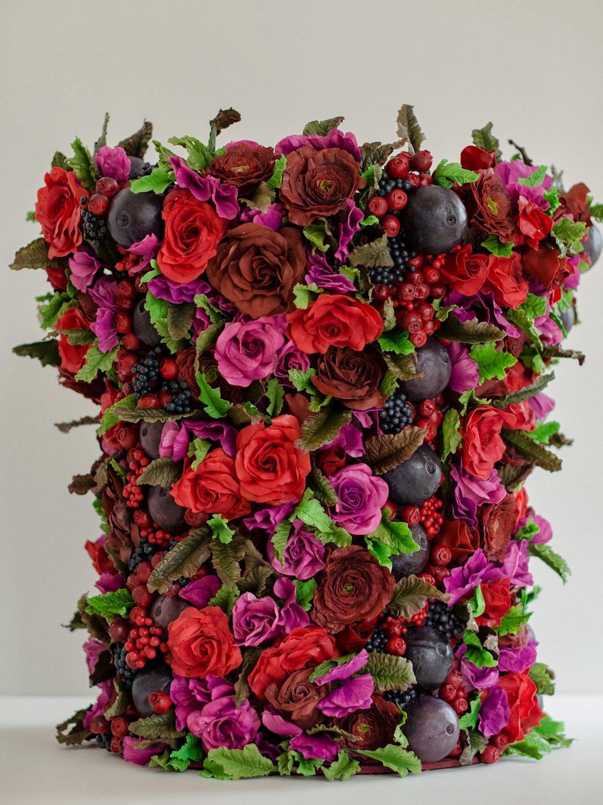 Designer de bolos cria as flores comestíveis mais realistas do mundo 06