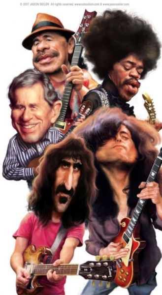 As excelentes caricaturas de celebridades de Jason Seiler 04