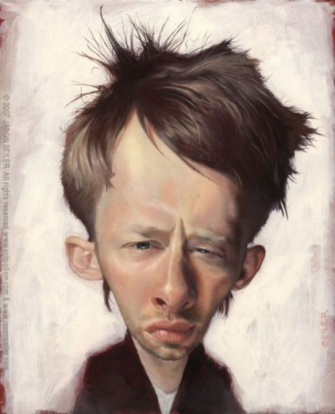 As excelentes caricaturas de celebridades de Jason Seiler 05