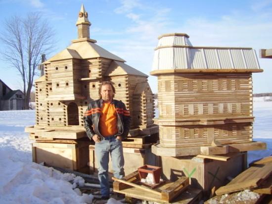 As incríveis casas de pássaros de John Looser 01