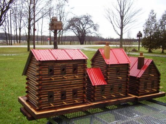 As incríveis casas de pássaros de John Looser 03