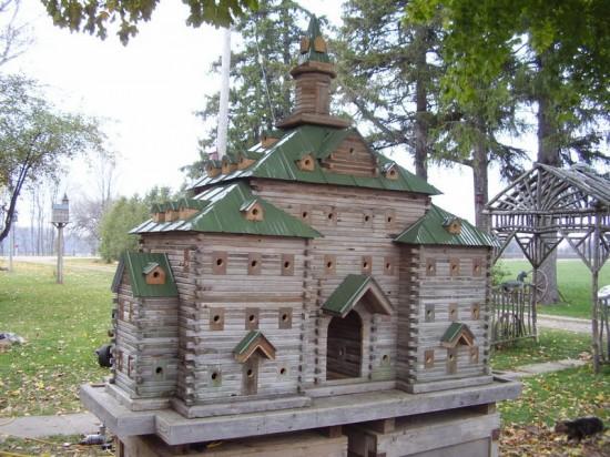 As incríveis casas de pássaros de John Looser 05