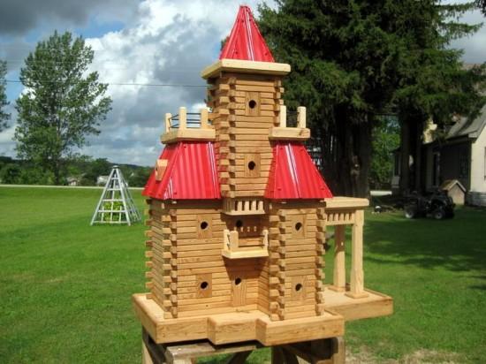 As incríveis casas de pássaros de John Looser 06