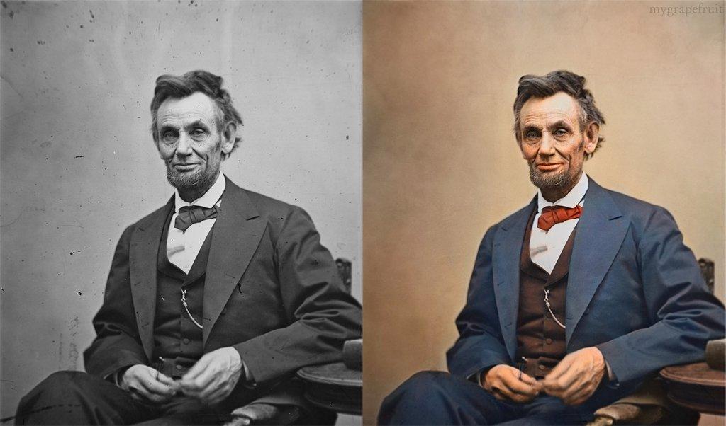 Colorizando fotos clássicas  03