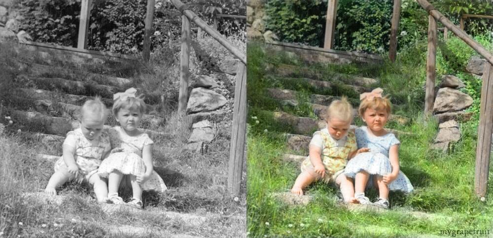 Colorizando fotos clássicas  20