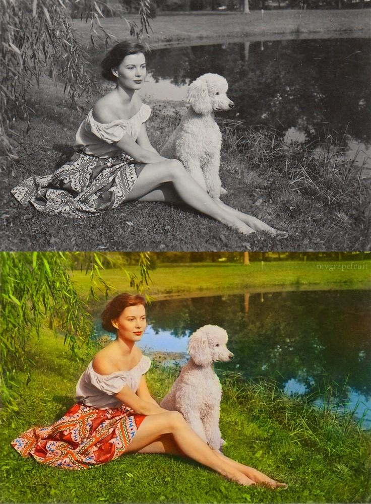 Colorizando fotos clássicas  22