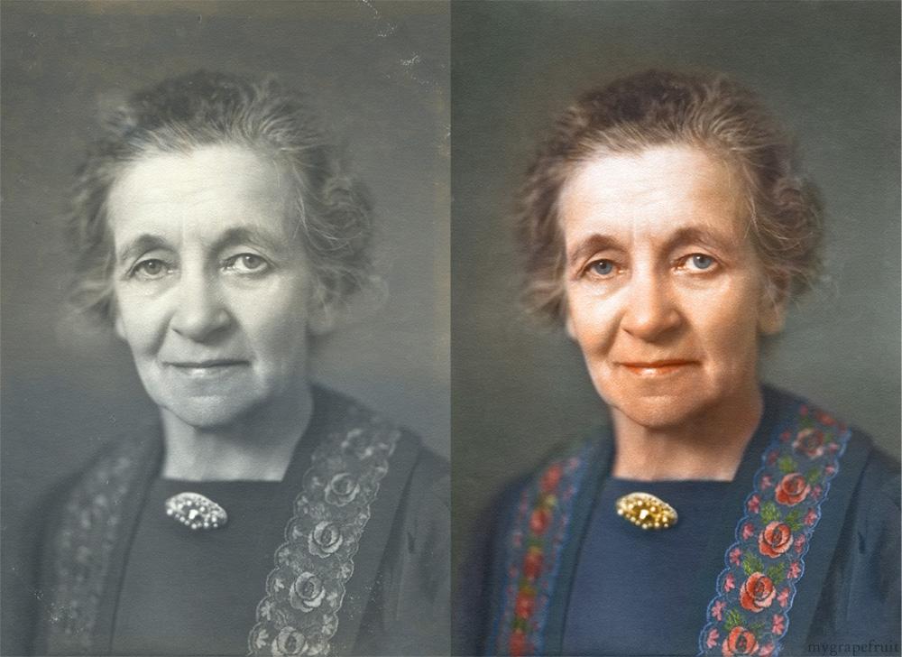 Colorizando fotos clássicas  23