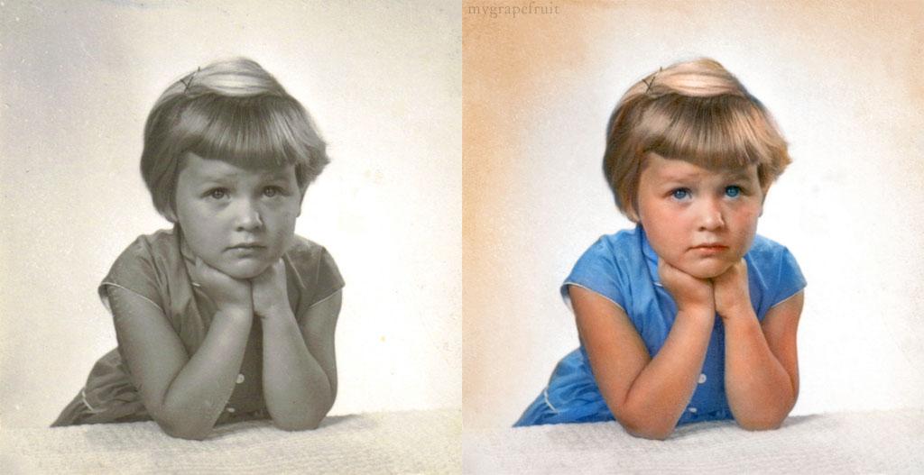 Colorizando fotos clássicas  31