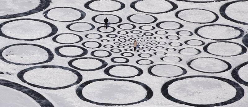 A colossal arte de Jim Denevan 26