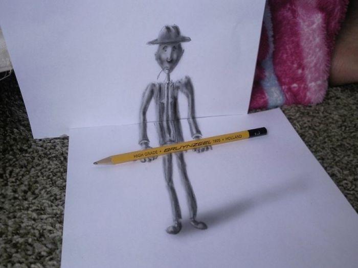 Desenhos 3D anam�rficos de Ramon Bruin 16