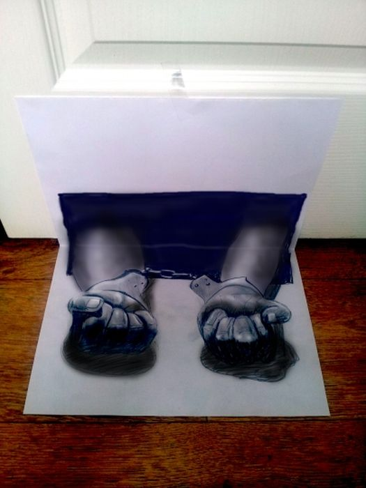 Desenhos 3D anam�rficos de Ramon Bruin 21