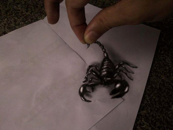Desenhos 3D anamórficos de Ramon Bruin 24