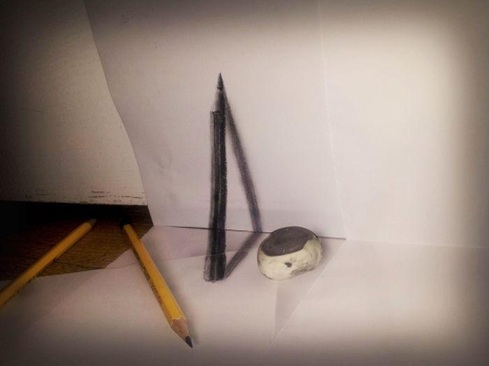 Desenhos 3D anamórficos de Ramon Bruin 25