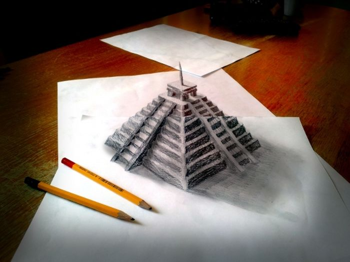 Desenhos 3D anamórficos de Ramon Bruin 31