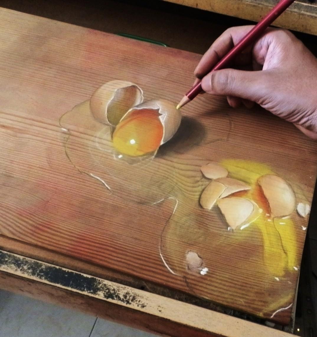 Os desenhos hiperrealistas e autodidatas de Ivan Hoo 10
