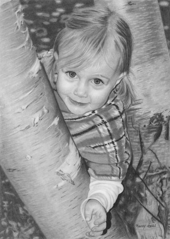 Desenhos a lápis realistas por Randy Hann 01