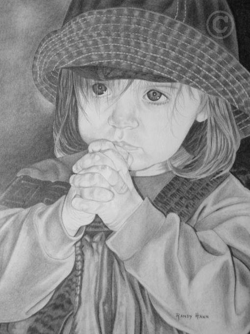 Desenhos a lápis realistas por Randy Hann 10