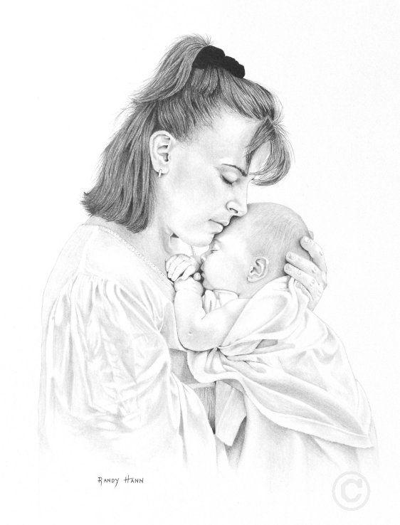 Desenhos a lápis realistas por Randy Hann 21