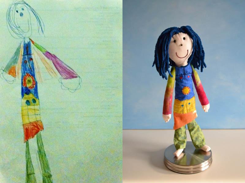 Mãe cria divertidos brinquedos a partir de desenhos infantis 04