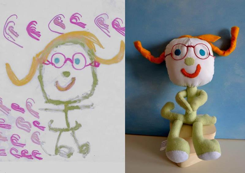 Mãe cria divertidos brinquedos a partir de desenhos infantis 09