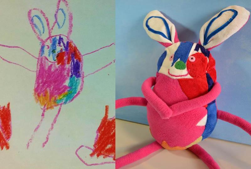 Mãe cria divertidos brinquedos a partir de desenhos infantis 10