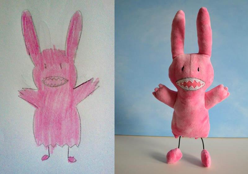 Mãe cria divertidos brinquedos a partir de desenhos infantis 12