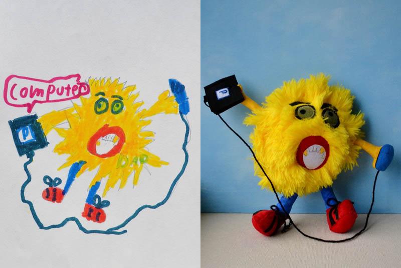 Mãe cria divertidos brinquedos a partir de desenhos infantis 15
