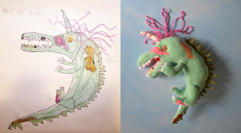 Mãe cria divertidos brinquedos a partir de desenhos infantis 16