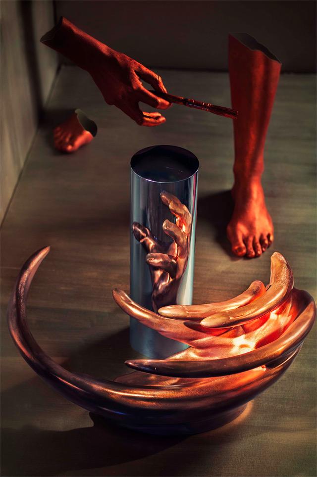 As esculturas anamórficas de Jonty Hurwitz: um desafio a nossa percepção sensorial 01