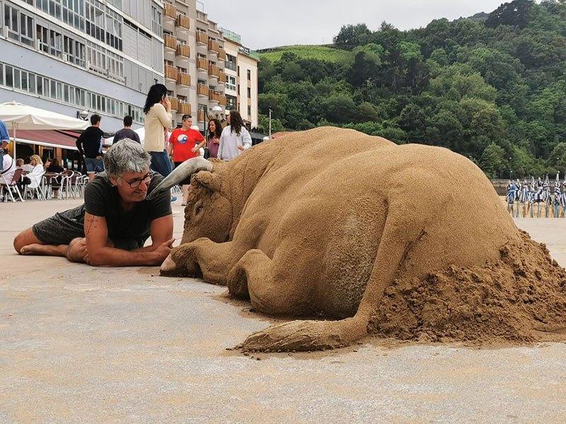 As esculturas de areia incrivelmente realistas de Andoni Bastarrika 02