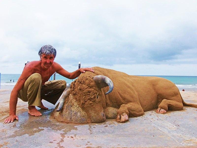 As esculturas de areia incrivelmente realistas de Andoni Bastarrika 03