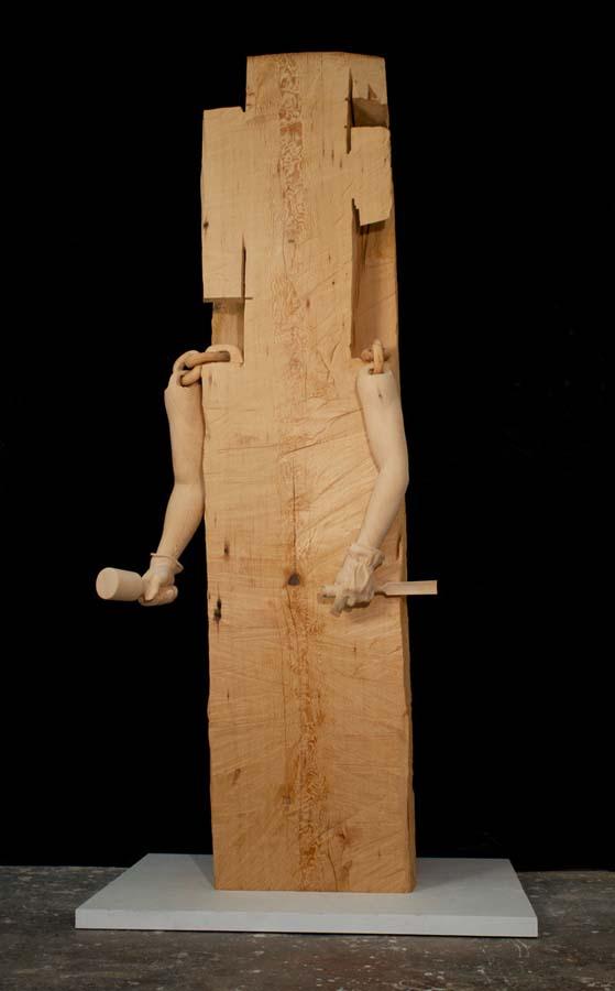 As surpreendentes esculturas de madeira de Dan Webb 13