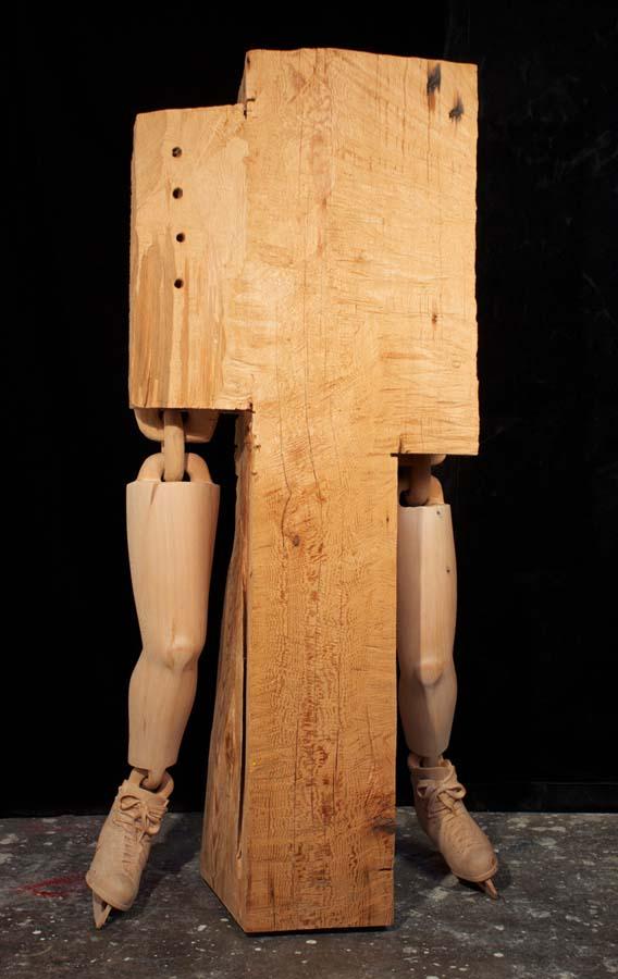 As surpreendentes esculturas de madeira de Dan Webb 16