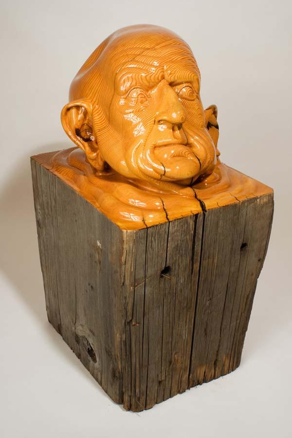 As surpreendentes esculturas de madeira de Dan Webb 28