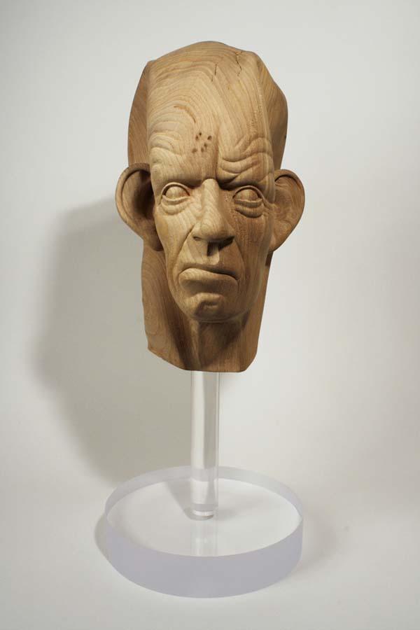 As surpreendentes esculturas de madeira de Dan Webb 37