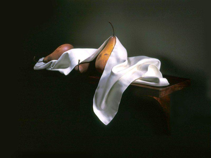 Acredita que essas esculturas realistas são feitas com madeira? 11